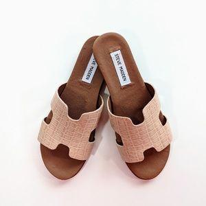 Steve Madden Shoes - NEW Steve Madden Harriet Natural Leather Sandal